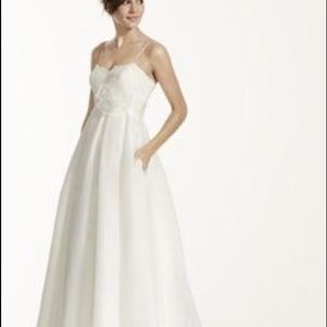 Galina Dresses Wedding Spaghetti Strap Empire Waist Gown Poshmark